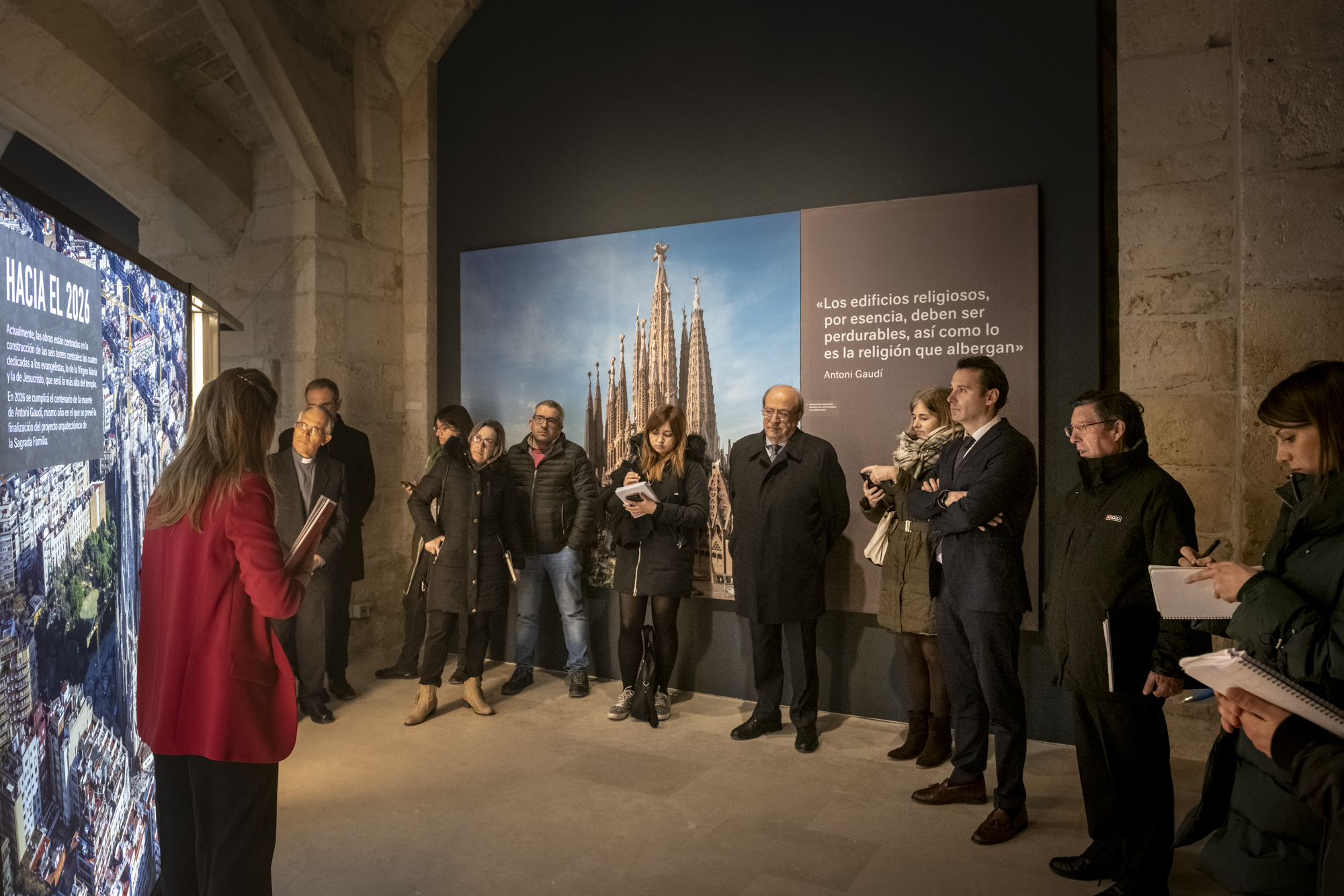 Travelling exhibition on Gaudí and the Sagrada Família, now in Burgos