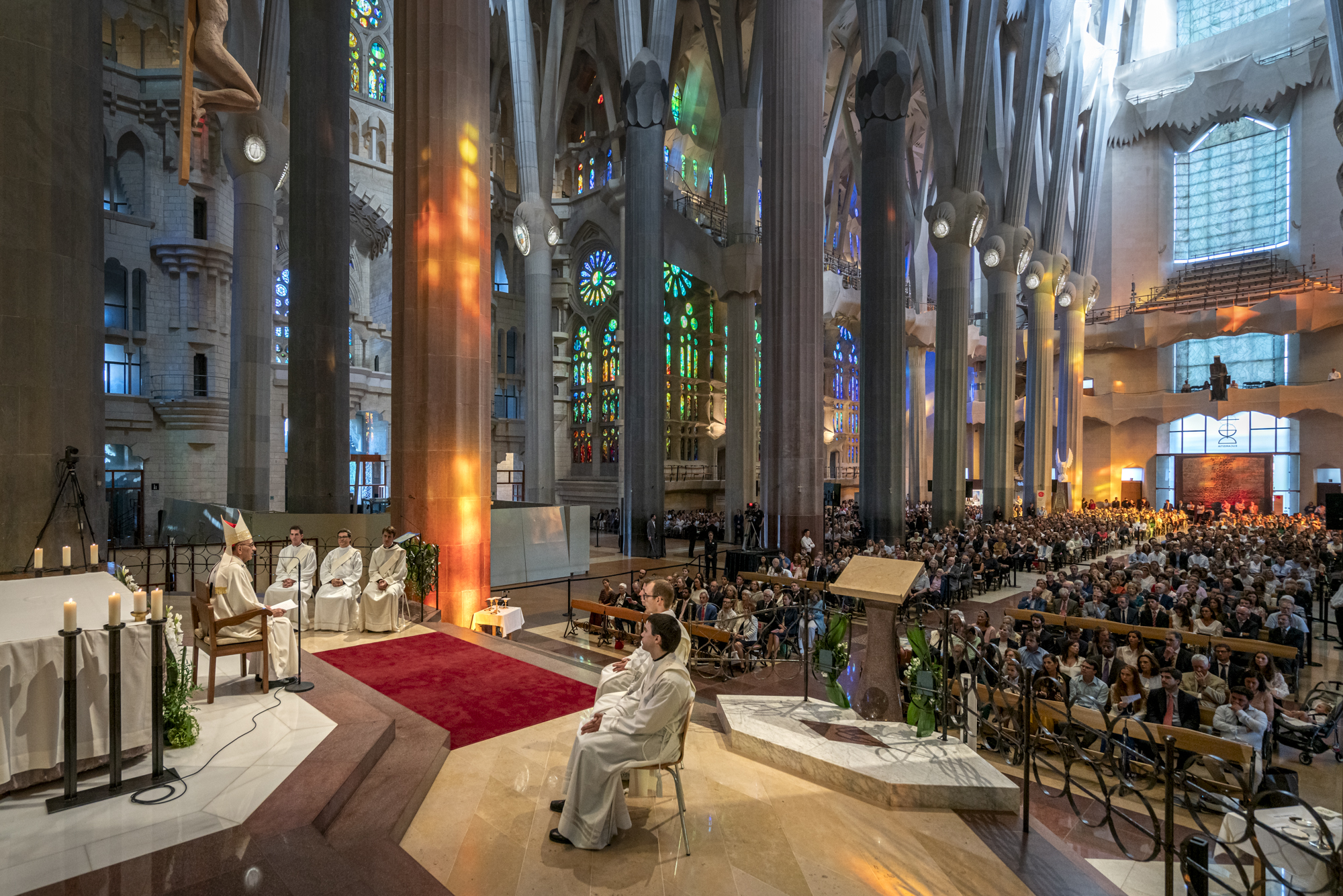 New mass of priestly ordinations at the Sagrada Família