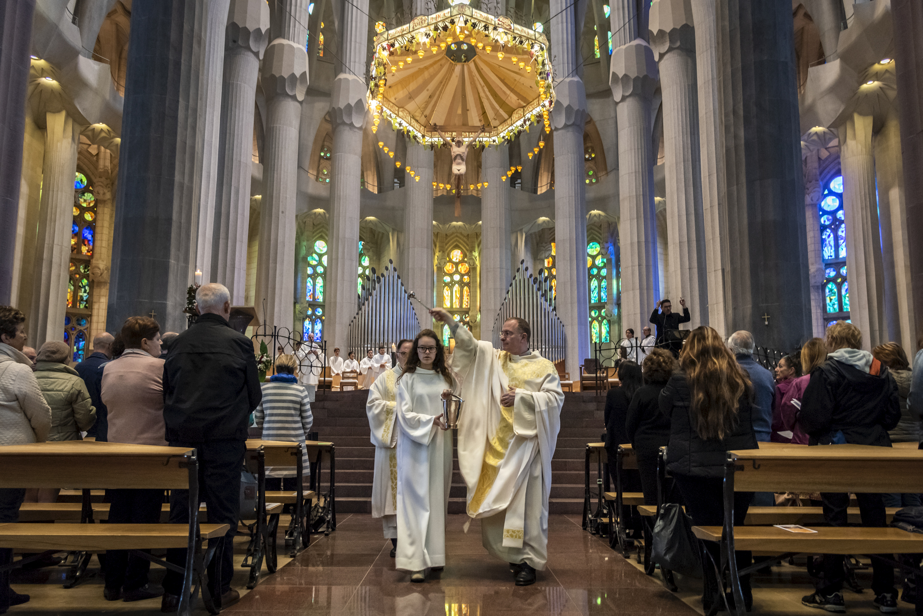 The Sagrada Família is adding a second international mass to its liturgical calendar