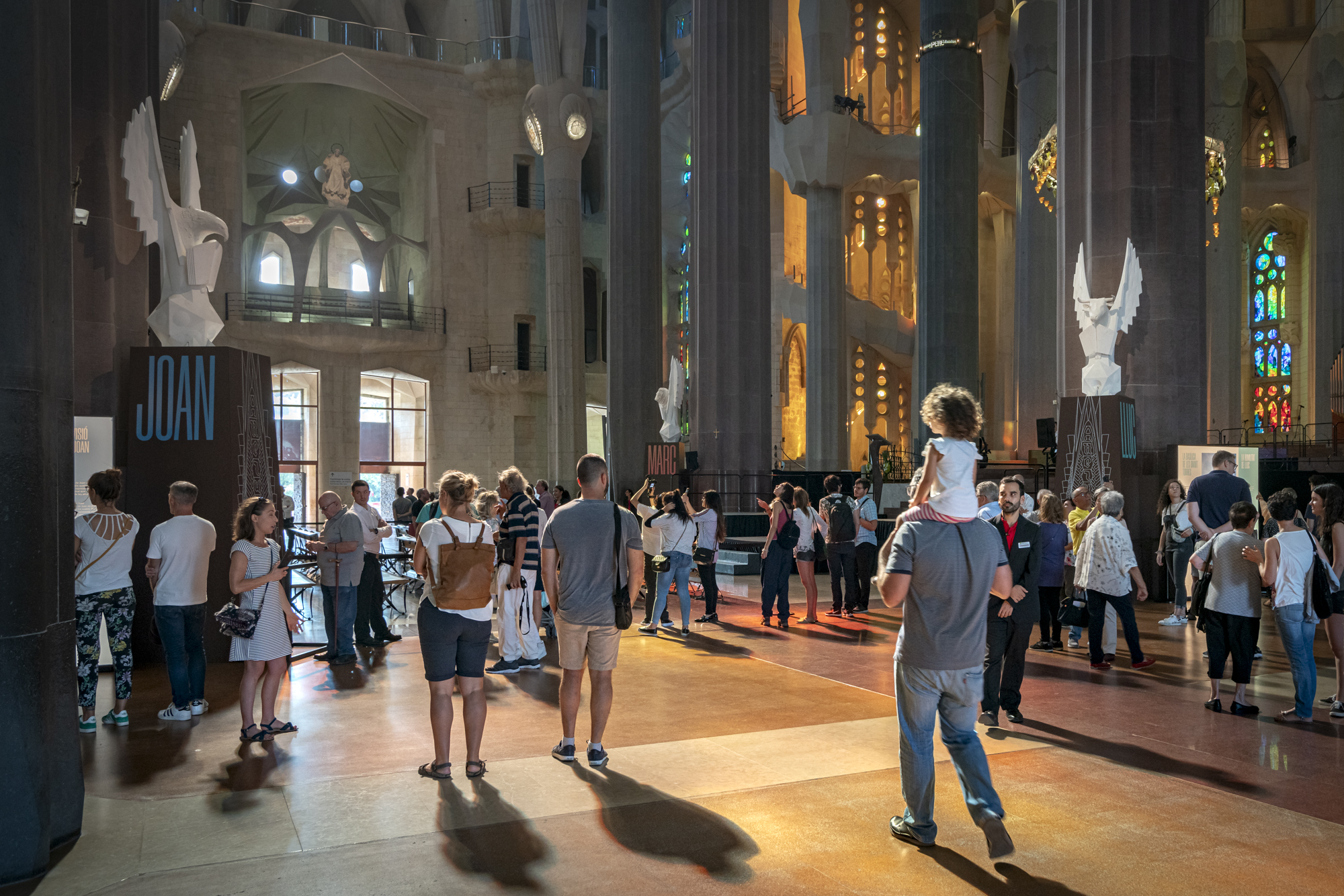 The Sagrada Família has held its Open Doors Days