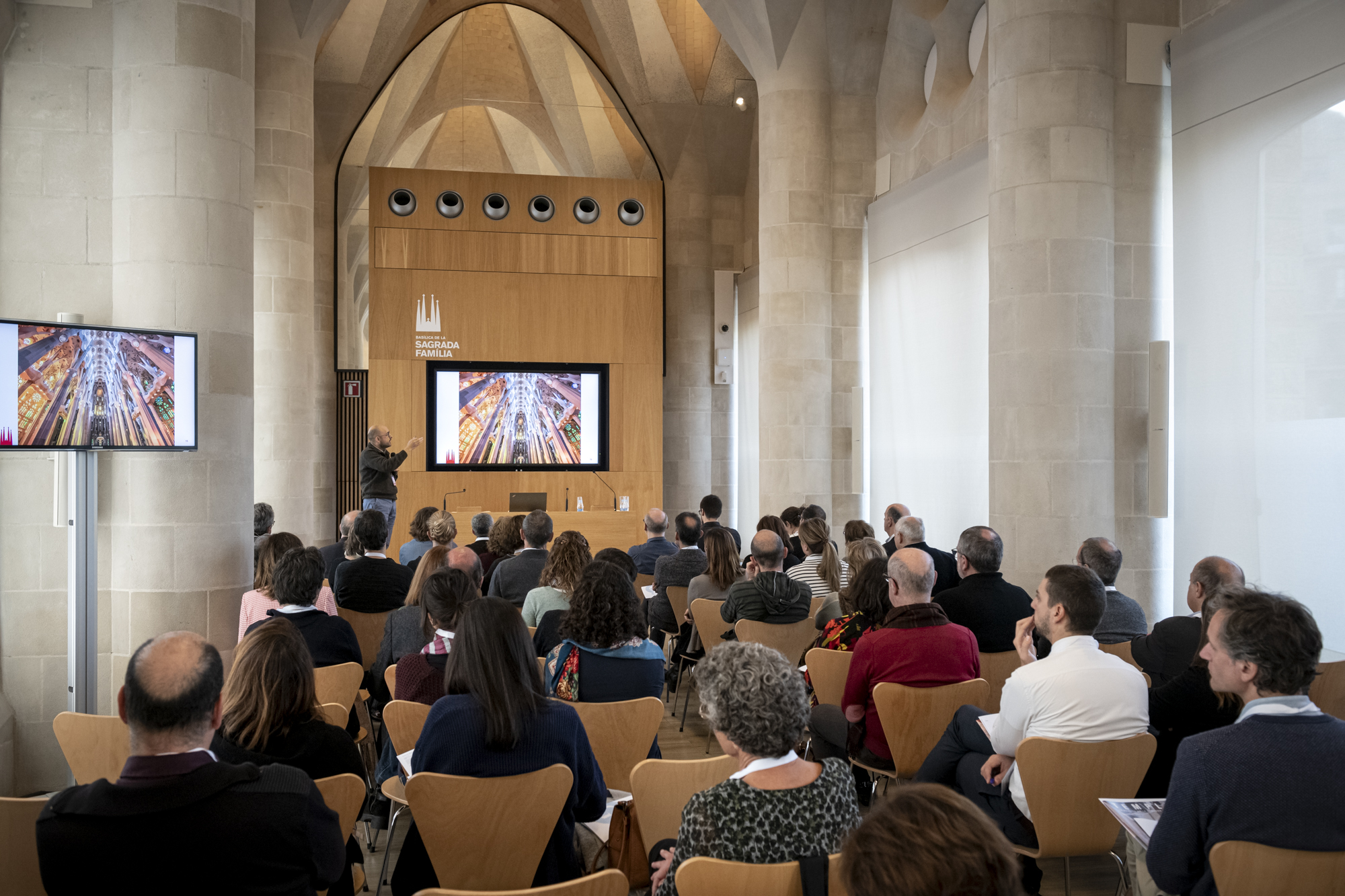 5th Gaudí Council Seminar, at the Sagrada Família