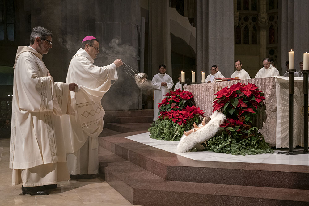 Basilica celebrates birth of Jesus with Midnight mass