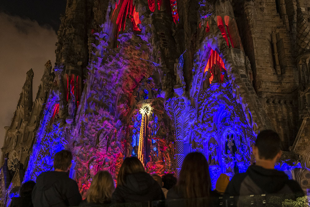28.000 people experience the spirit of Christmas at the Sagrada Família