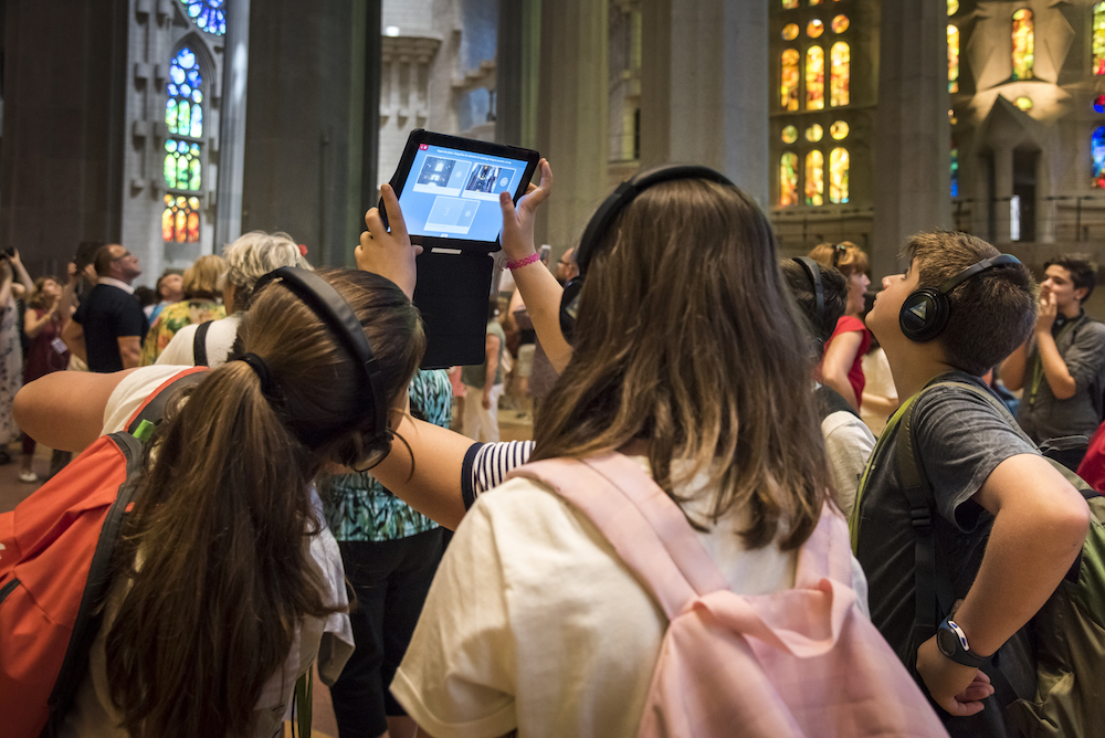 Increase in school visits to the Sagrada Família