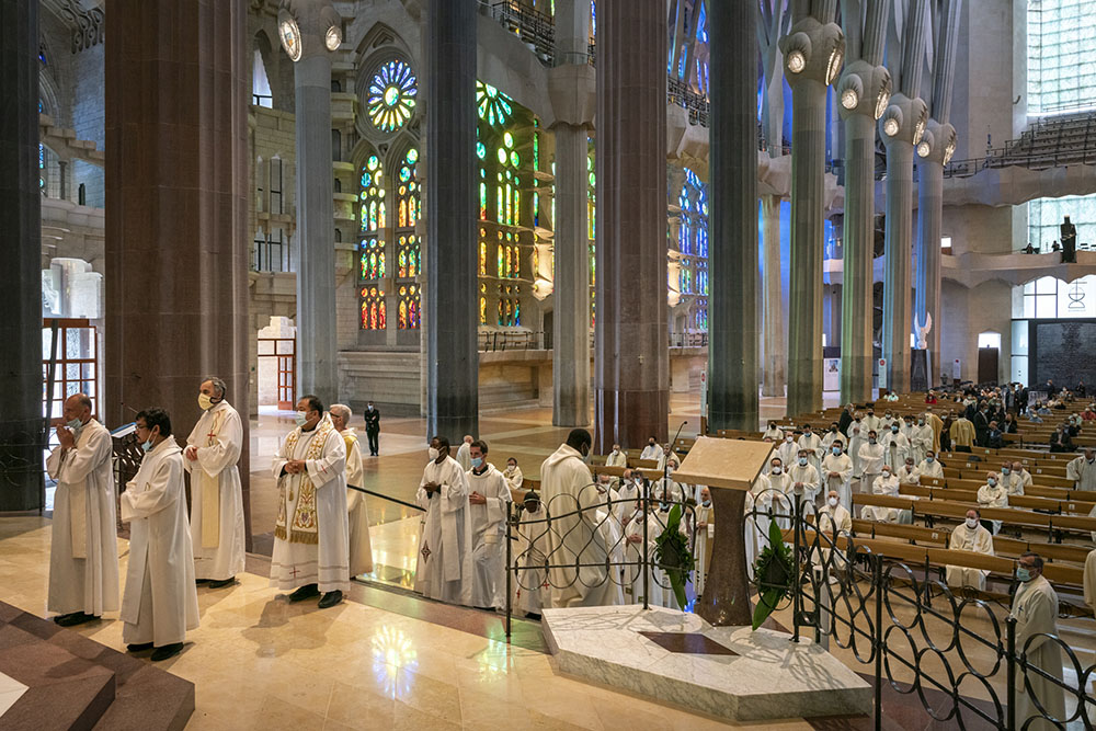 Celebration of the silver and gold jubilee of the priests and deacons of the Archdiocese of Barcelona