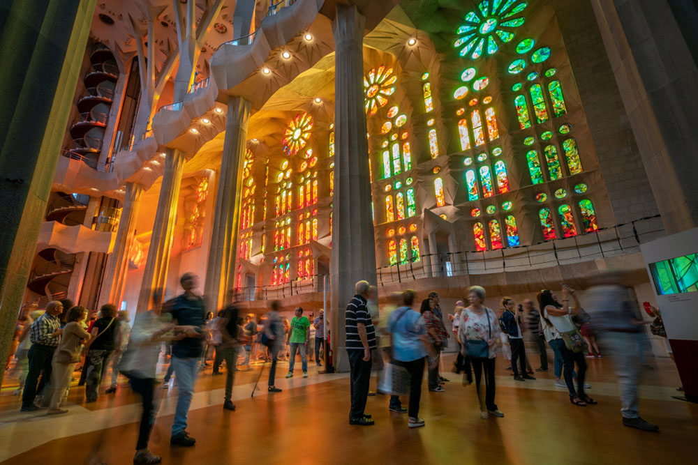 First weekend of visits to the Sagrada Família exclusively for Barcelona residents